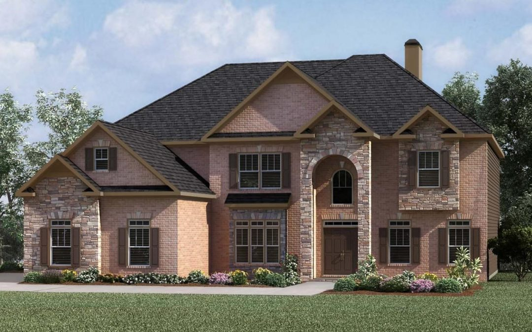 new brick home